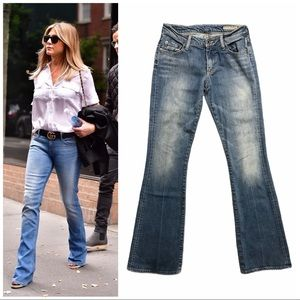Chip & Pepper lala USA made retro flare jeans 25